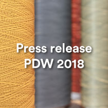 Press release PDW18