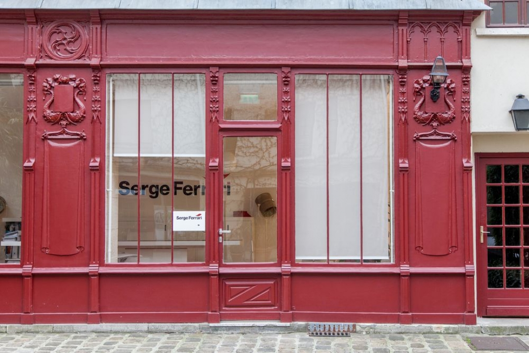 Serge Ferrari showroom