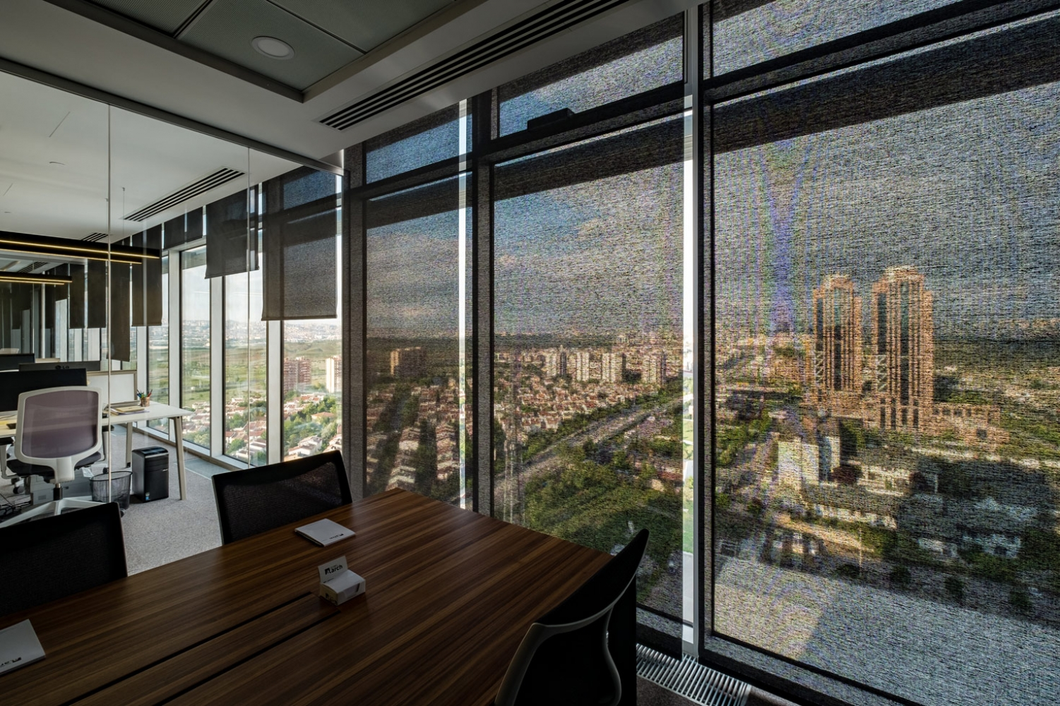 Alper Aksoy Office internal solar protection