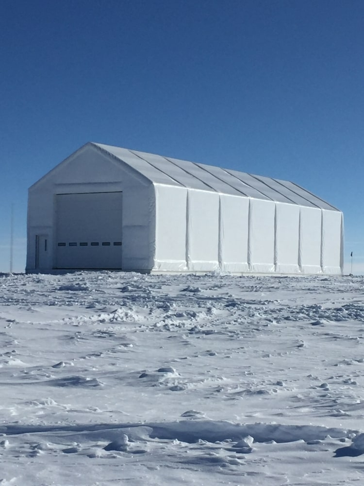 Equipment facility at National Science Foundation in Greenland