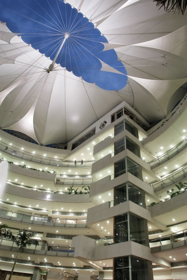 Unicentro shopping centre tensile roof
