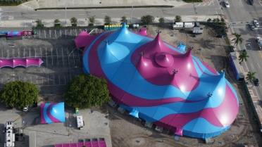 Vasquez Circus Big Top in Miami