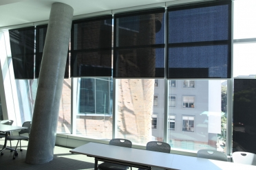 Dr Chau Chak Wing University internal blinds