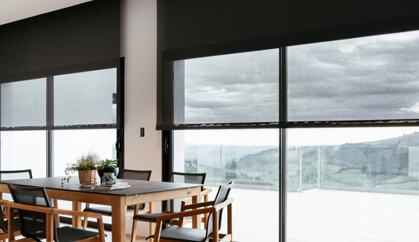 Indoor roller blinds