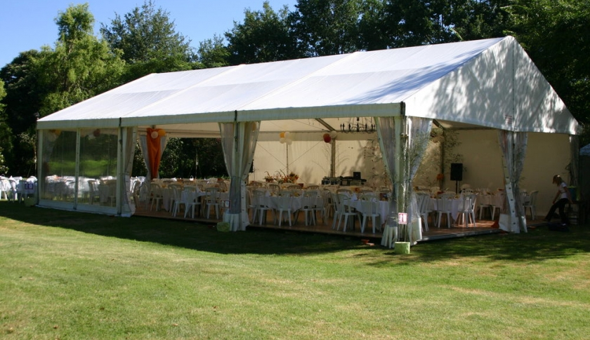 Tents, marquees, gazebos