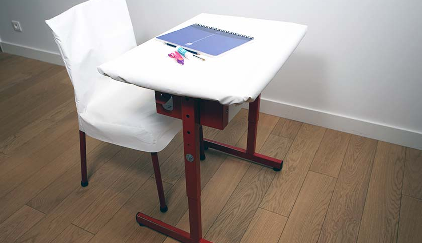 Table and chair protections for schools