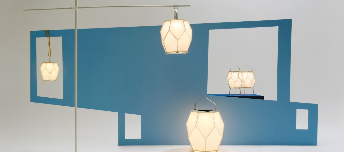 Maiori Is Using Batyline To Create Colourful Lamps For Sustainable