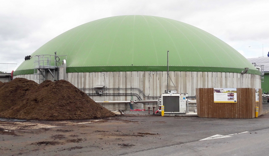 Methelec anaerobic digestion plant